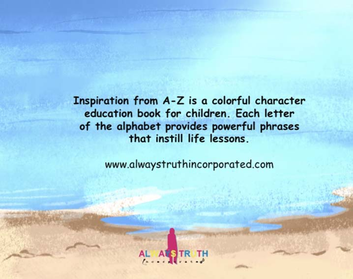Inspiration from A-Z is a Colorful Character Education Nook for Children